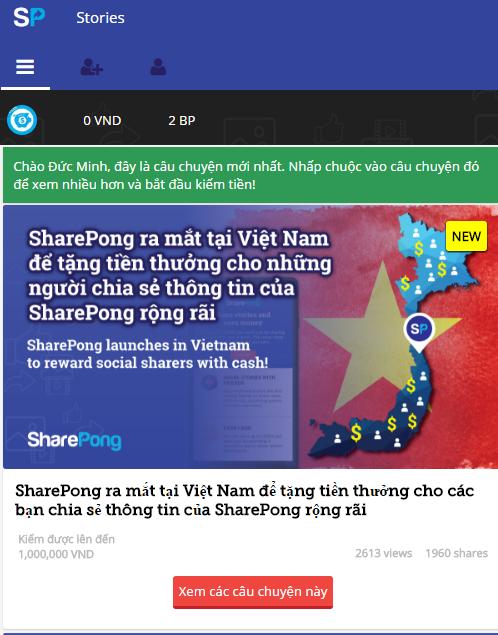 share-pong kiếm tiền, kiem tien với share -pong, kiem tien online
