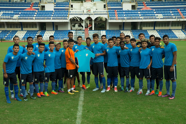 NIKE LAUNCHES THE NATIONAL TEAM KIT AS INDIAN FOOTBALL GEARS UP TO CREATE HISTORY
