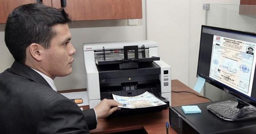 CAPe: Más de 8 mil personas tramitaron certificado de antecedentes penales vía web