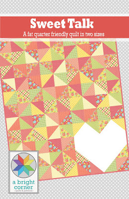 Sweet Talk quilt pattern by Andy Knowlton of A Bright Corner