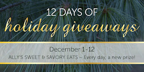 12 Days of Holiday Giveaways Recap + Wayfair, Minnetonka, Caty + Rose Market gift card giveaway (sweetandsavoryfood.com)