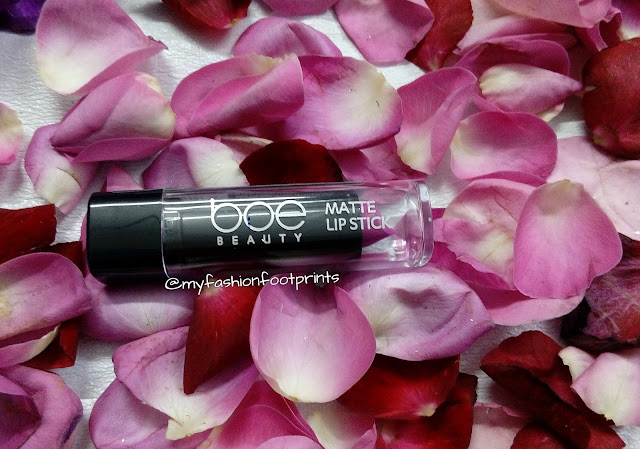 BOE Beauty Shocking Matte Pink -  Review and FOTD