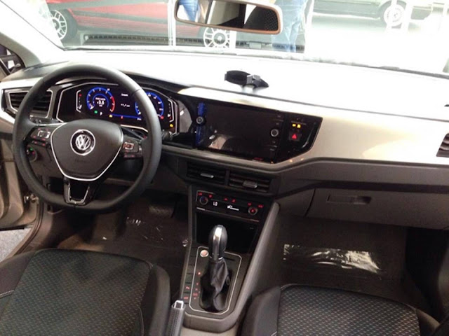 Novo VW Virtus 2018 - interior