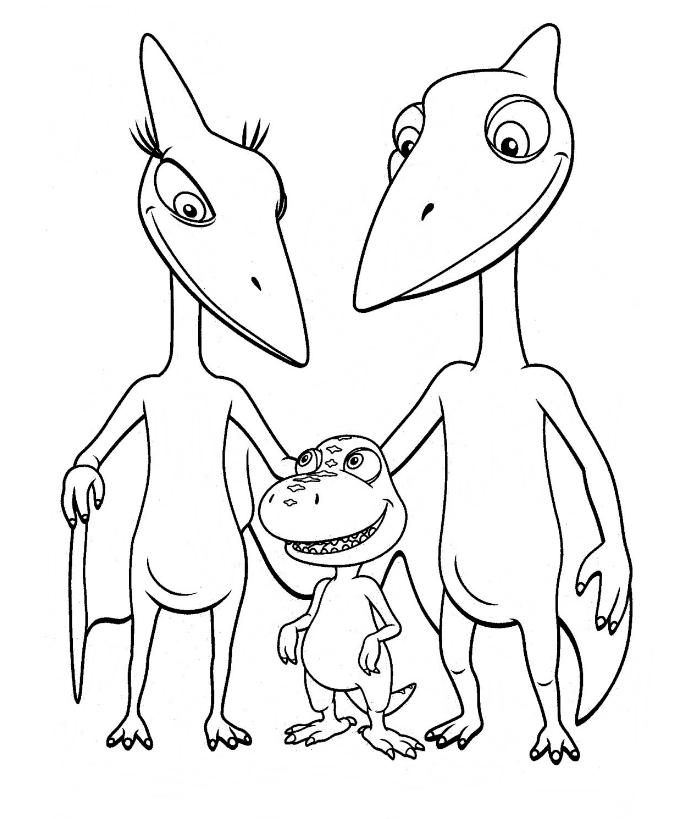 Mi colección de dibujos: Dinotren dibujos