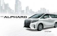Harga All New Toyota Alphard Surabaya