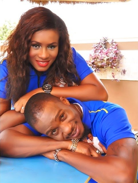 Image reNOLLYWOOD ACTOR JNR POPE SHARES ADORABLE PHOTOS OF HIS WIFE AND SONS sult for jnr pope and wife jennifer w