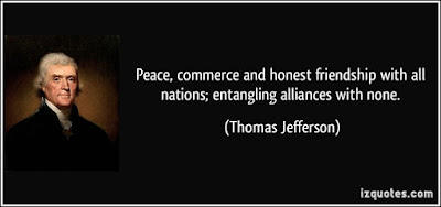 Greatest sexy quotes about friendship: Peace, commerce and honest friendship with all nations; entangling alliances with none.