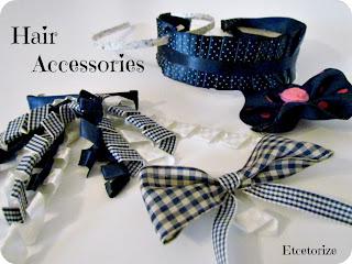 DIY Hair Accessories, DIY Headband, Ribbon Crafts