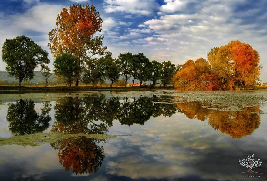 Fabulous Autumn Landscapes In Romania by Alex