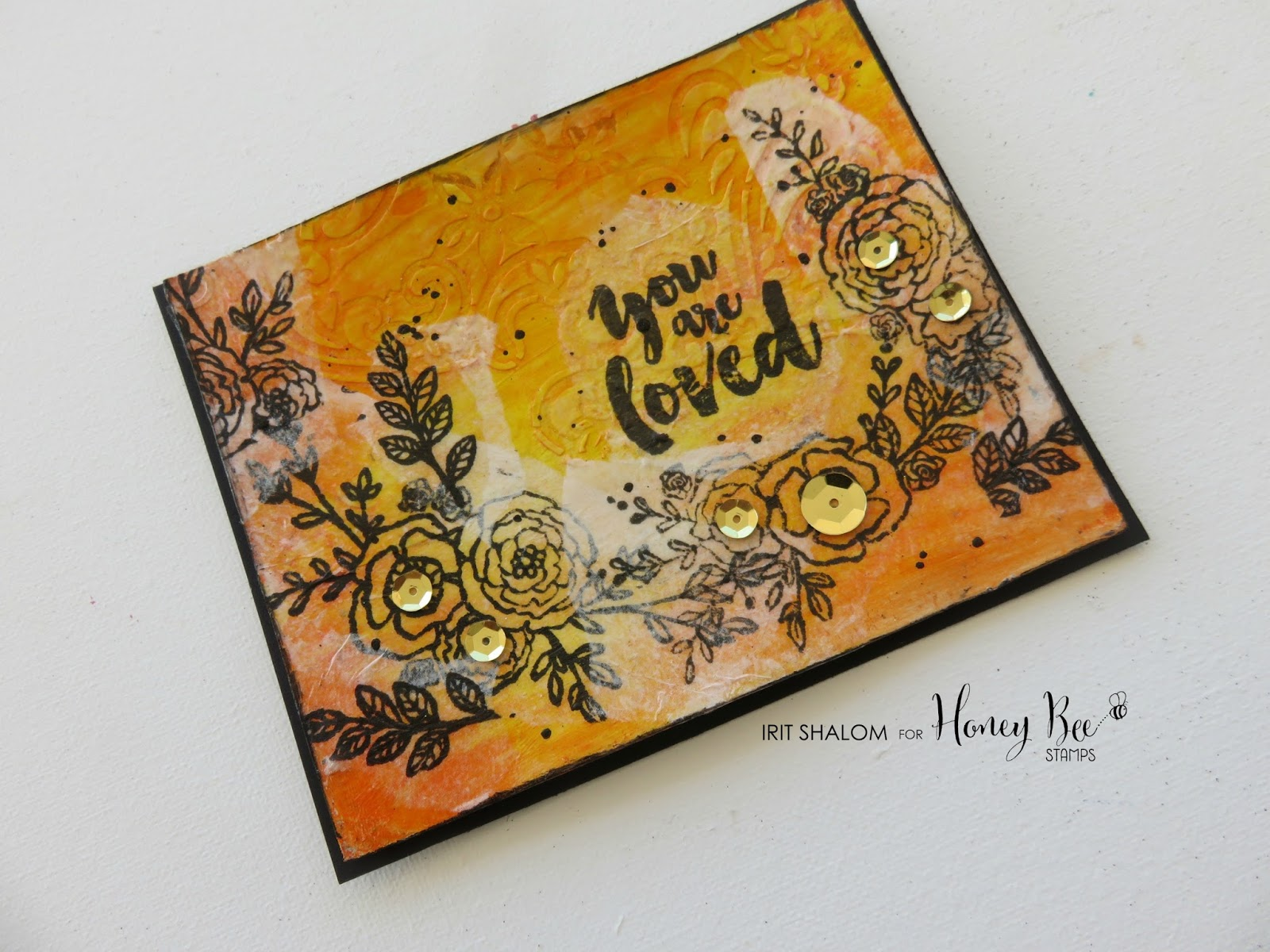 IRIT SHALOM- Craft addict : You are loved card with Honey ... - photo#25