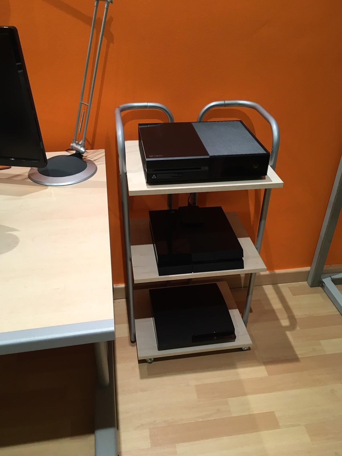 Chicho Blog Resultado Final Del Mueble Para Consolas 2 2  # Muebles Para Poner Xbox