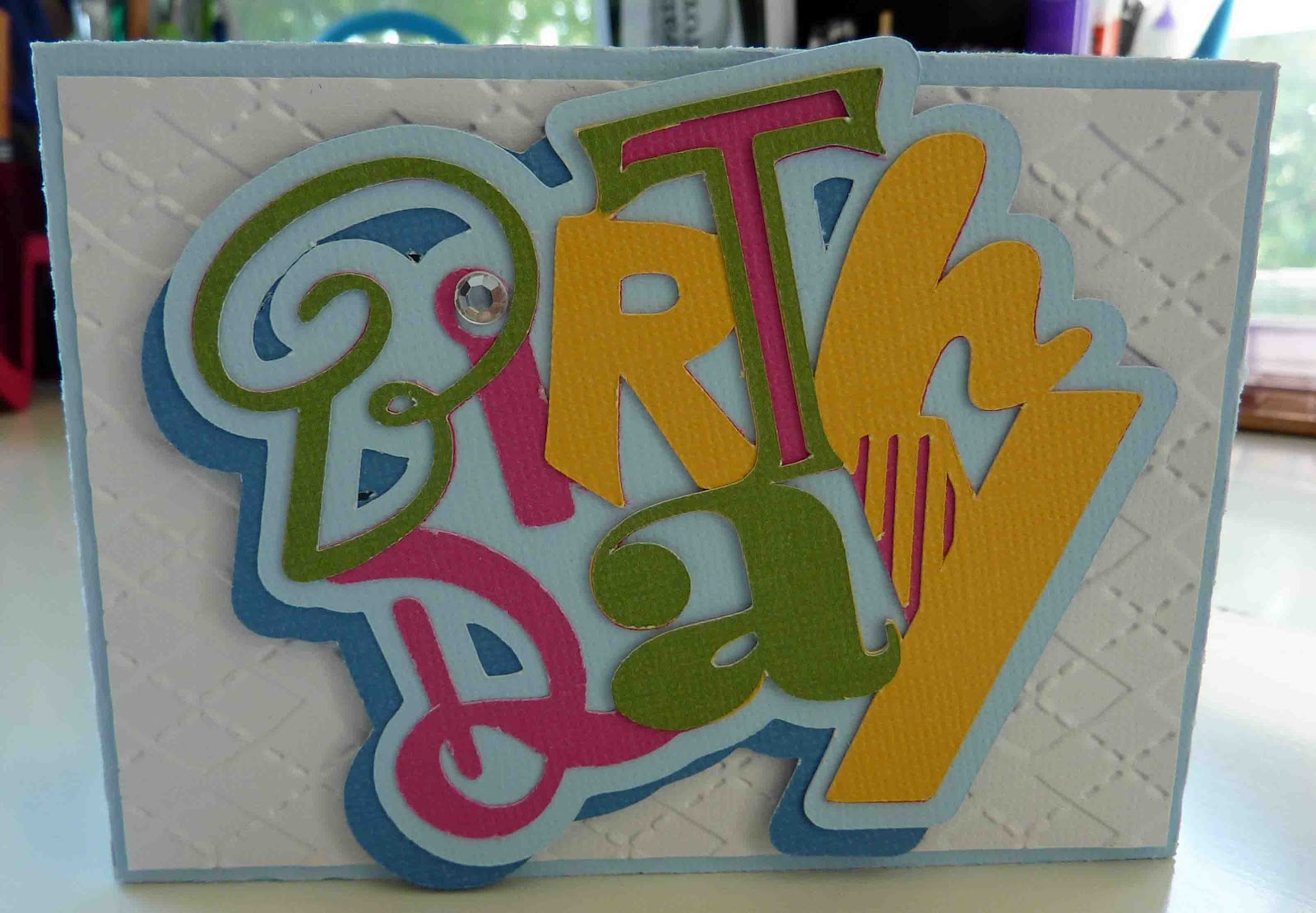 The Box Is A Fun Gift Card Holder I Bought Form Silhouette Store Removed Happy Birthday
