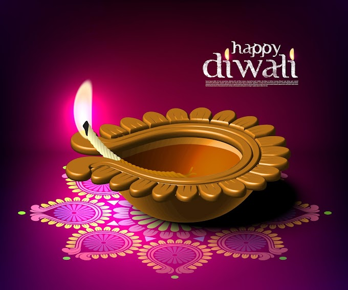 diwali 2019 India diwali elements backgrounds vector Free vector