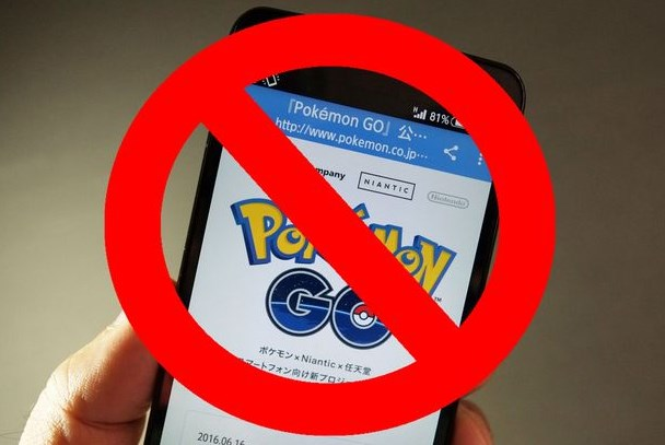 Gambar Akun Game Pokemon Go di Banned