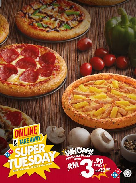 Domino's Pizza Malaysia Personal Pizza RM3.90