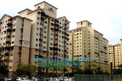 Permohonan Rumah Transit Belia Kuala Lumpur 2018 Online