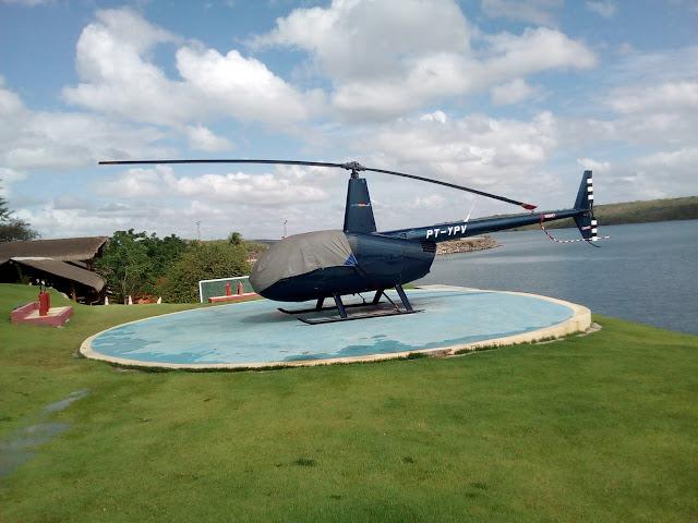 www.canionsxingo.com.br - Os voos panorâmicos sobre a hidroelétrica de Xingó partem Todos os dias do Parque Karrancas, localizado na cidade de Canindé de São Francisco