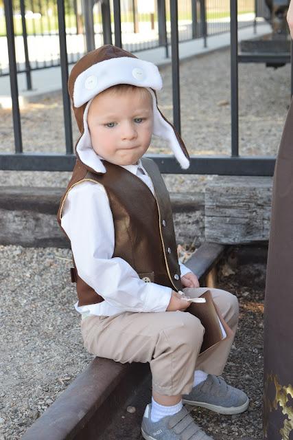 little boy steampunk costume