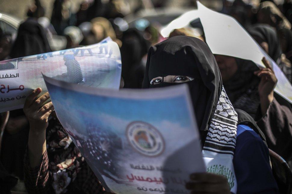 35 Photos Of Protesting Women That Portray Female Power - Gaza
