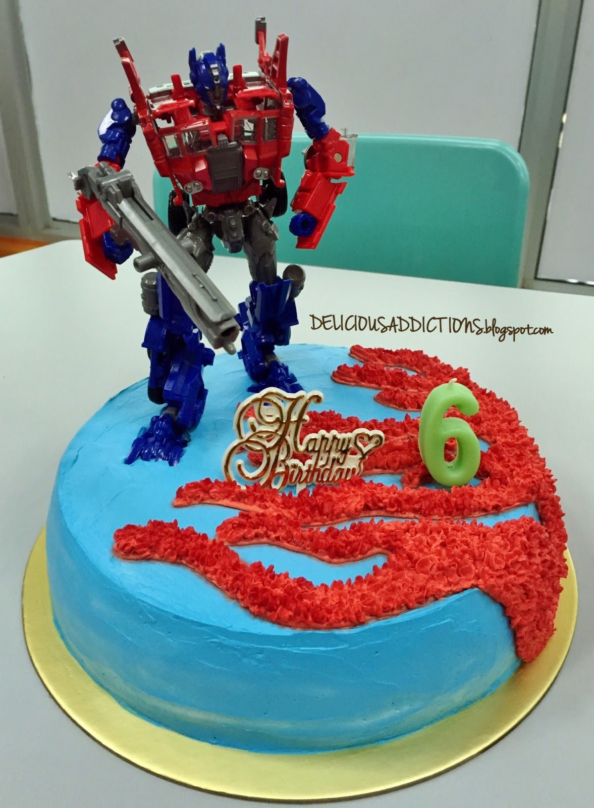 Delicious Addictions Happy 6th Birthday Ovann