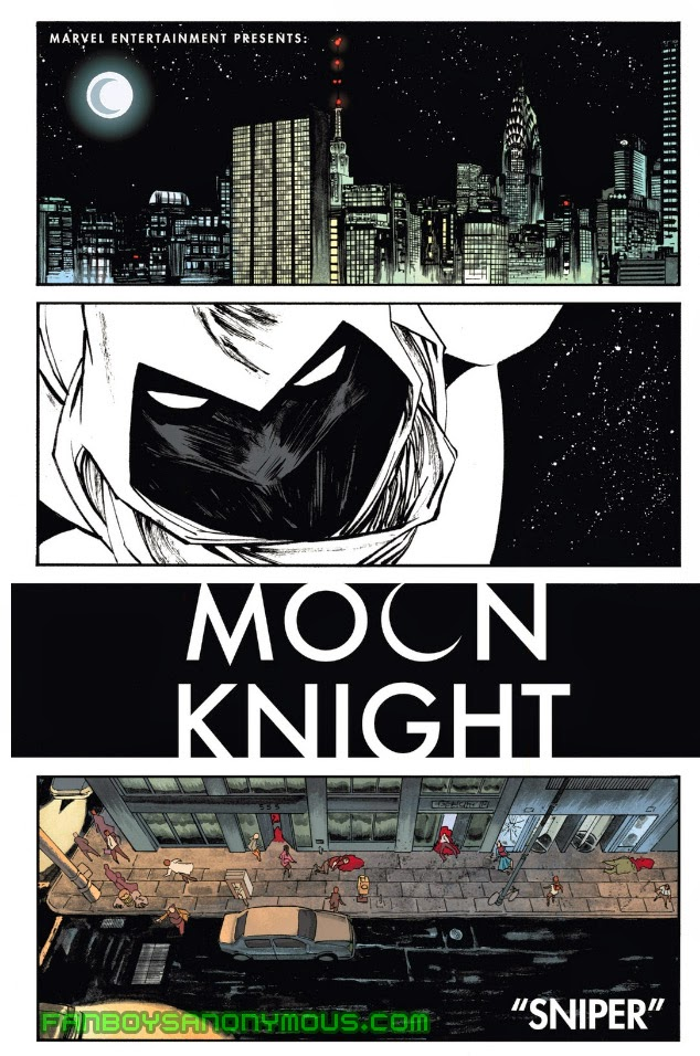 Read old Moon Knight comic books on your mobile device with Marvel Digital Comics Unlimited