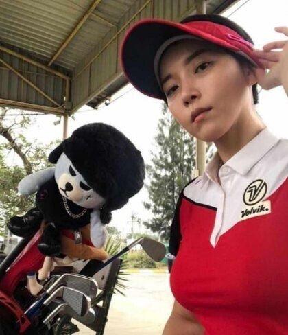 김사랑 골프 CF 대역