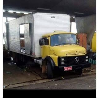 Ibiúna: Bandidos pedem caminhão de mudança, roubam e agridem motorista