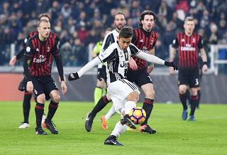 ملخص مباراة يوفنتوس وميلان 1-0 كأس السوبر الايطالي اليوم 16/1/2019 Italian Super Cup Juventus vs AC Milan