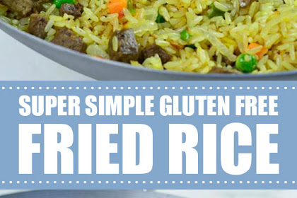 Super Simple Gluten Free Fried Rice