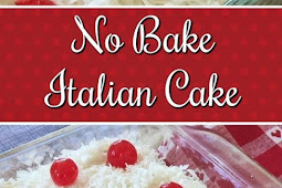 No-Bake Italian Cream Cake