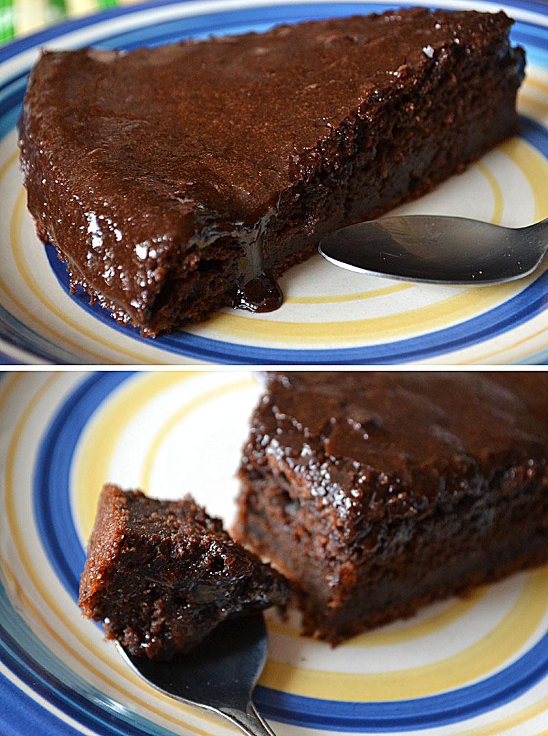Сметанный пирог с какао