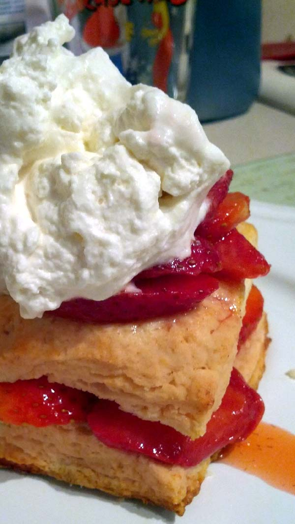 Homemade Strawberry Shortcake. Easy-to-follow Recipe.