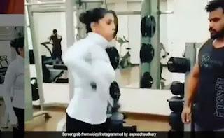 Sapna Choudhary's Gym Video Happened Viral