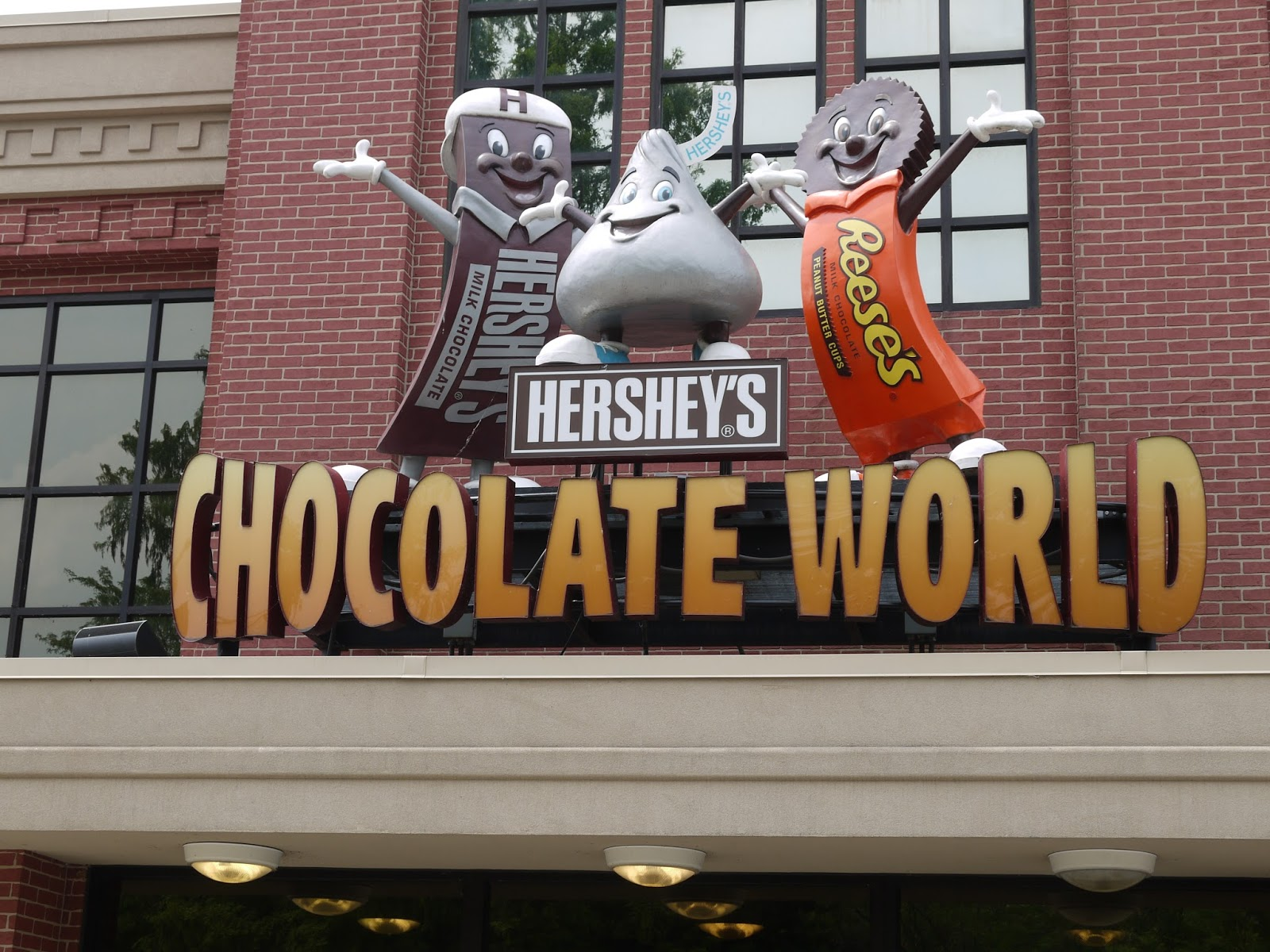 2dodges2go: 7/22/13 - Hershey's Chocolate World