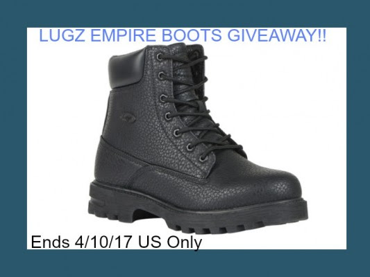 LUGZ Empire Boots #Giveaway - Ends 4/10