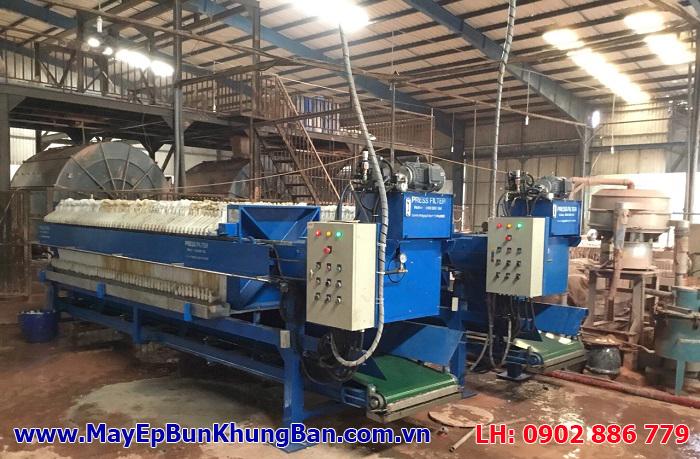 Vĩnh Phát cam kết mạnh mẽ về chất lượng máy ép bùn khung bản Việt Nam phân phối toàn quốc