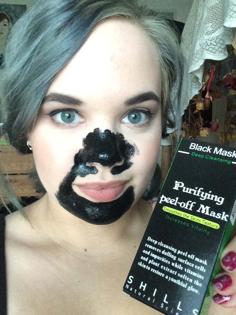 Shills Natural Science Purifying Peel Off Mask