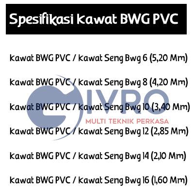 DISTRIBUTOR KAWAT BWG PVC | jualanekakawat.com