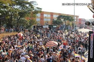 IMG 9932 - 13ª Parada do Orgulho LGBT Contagem reuniu milhares de pessoas