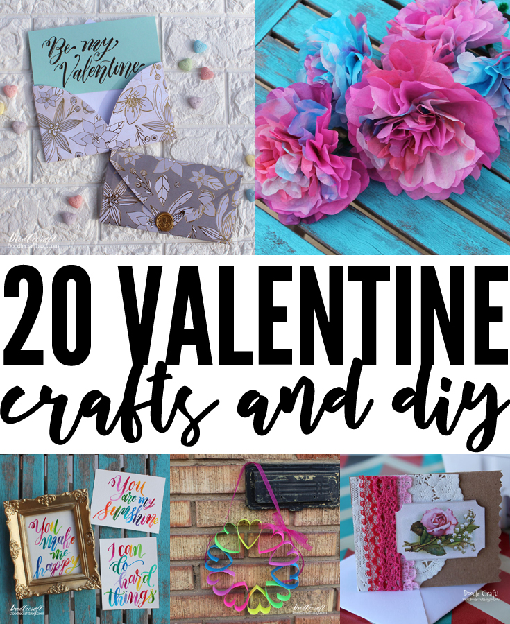 Crafts and Diy's perfect for Valentines day!