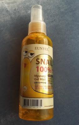 Eunyul Snail 100% Mistery Gel Mist