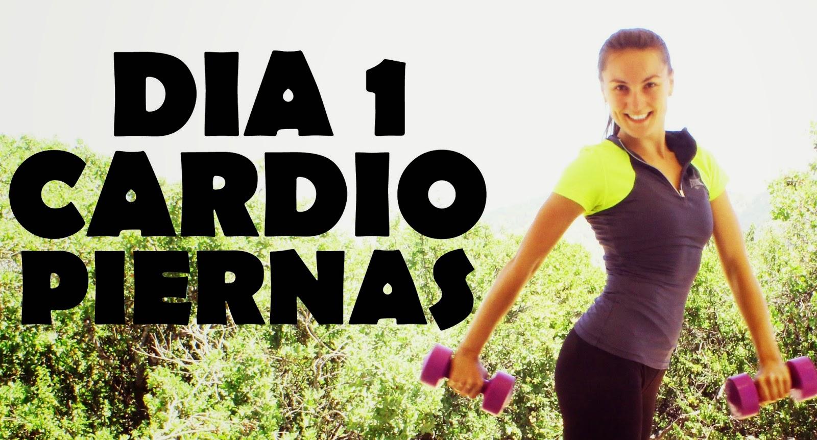PROGRAMA 30 DIAS - 30 rutinas de ejercicios divididas por los grupos  musculares. Incluye entrenamientos cardiovascular 56ebf794ce0c