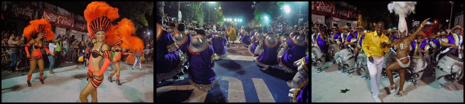 Desfile de Llamadas. La Simona.