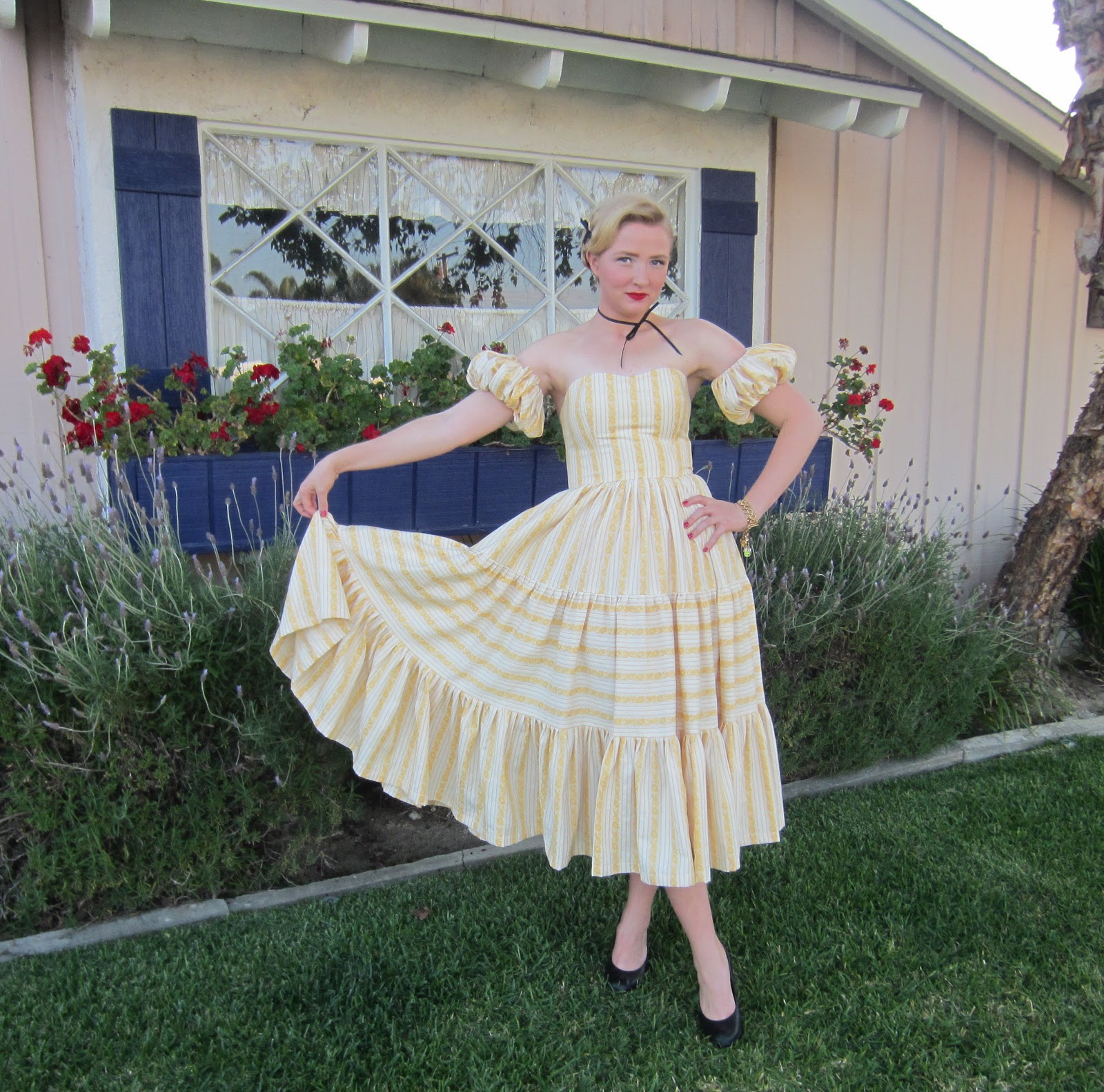 Barn Dance Dress 1950 S