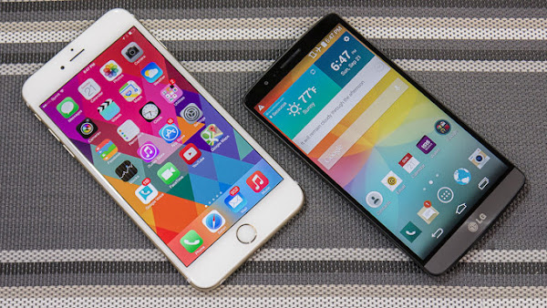 Apple iPhone 6 Plus vs. LG G3