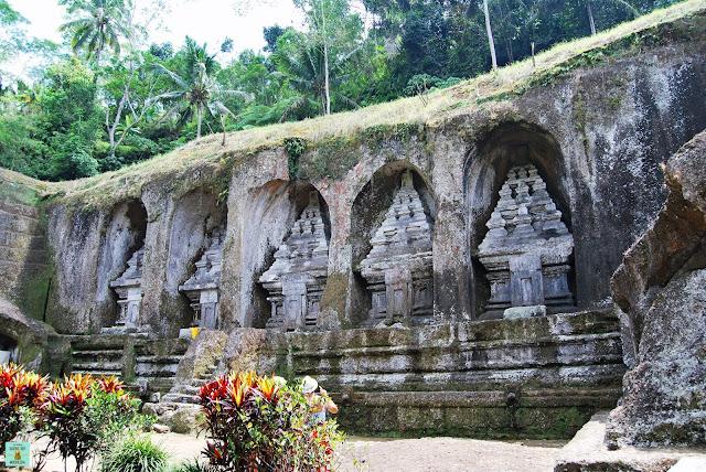 Templo Gunung Kawi en Bali, Indonesia