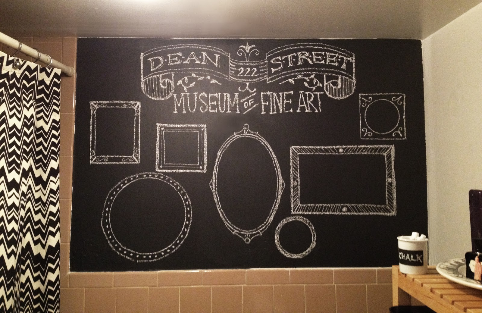 bexcetera: A chalkboard wall... or two!