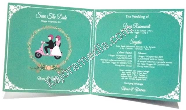 undangan pernikahan islami unik murah-kuningan indramayu