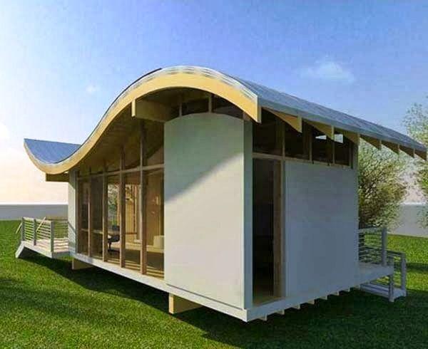 Desain Rumah Unik dan Menarik Minimalis Sederhana