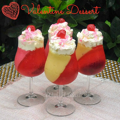 Valentine Dessert ~ quick and easy to make ! Pantry ingredients !  #ValentineDessert #ValentinesDay #Dessert